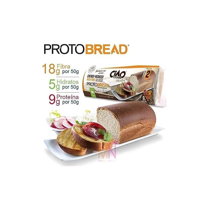 Pan bajo en carbohidratos CiaoCarb: Amazon.es: Alimentación y bebidas