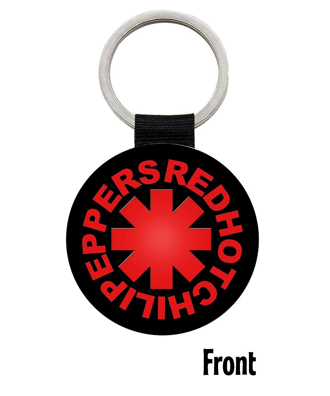MasTazas Red Hot Chili Peppers Llavero Keyring: Amazon.es ...