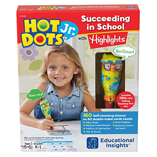 (Educational Insights Hot Dots Jr. Succeeding in School with Highlights)