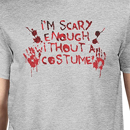 Without Taille Printing Unique Bloody Manches Hands Grey T Courtes Homme A shirt 365 Costume x8qTwZYY