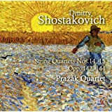 Chostakovitch/String Quartets No.14 & 15