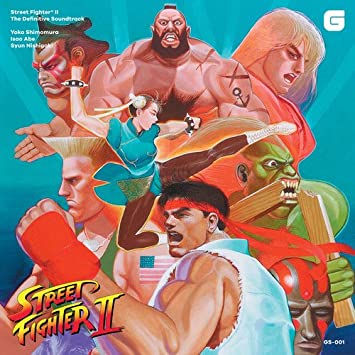 STREET FIGHTER II DEFINITIVE OST 180GORANGEBLUE VINYL - Street Fighter II The Definitive (Original Soundtrack) - Amazon.com Music