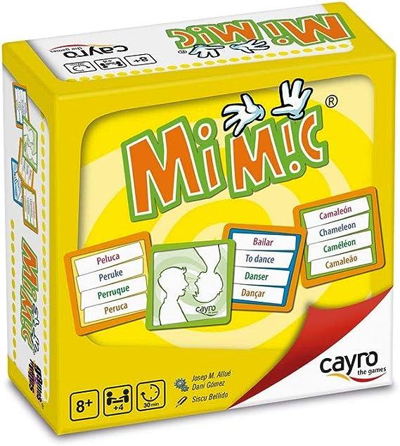 Cayro - Mi Mic - Juego de observación y representación Corporal - Juego de Mesa - Desarrollo de Habilidades cognitivas e inteligencias múltiples - Juego de Mesa (7003): Amazon.es: Juguetes y juegos