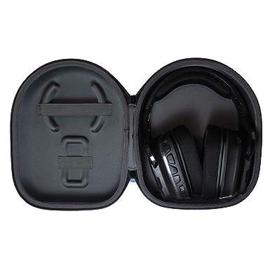 TUDIA - Funda rígida de Viaje para Auriculares inalámbricos Logitech G933 G930 G430 G230 G35