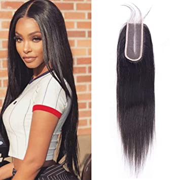 Hair Extensions & Wigs Human Hair Weaves 100% True Maxine Hair Ear To Ear Lace Frontal Closure 13x4 Free Part With Baby Hair Pre Plucked Brazilian Straight Human Hair Remy Hair