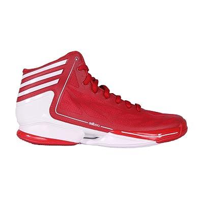 wholesale dealer d0474 799cb adidas adizero crazy light chaussures de basketball homme rouge T49 13