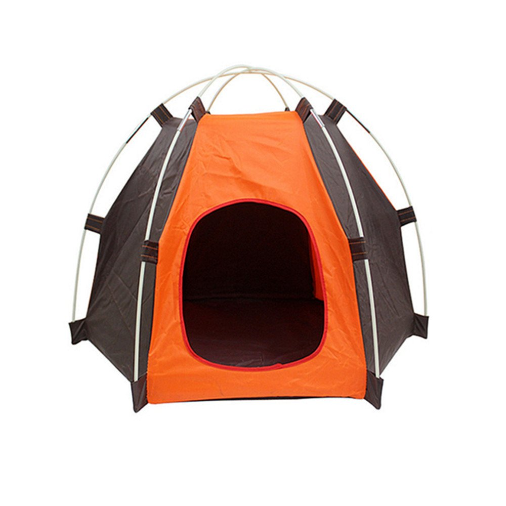 Amazon.com  Pup-Tent PYURS Pet C& Tent Foldable Dog Bed House for Puppy Dog Kitten Cat  Pet Supplies  sc 1 st  Amazon.com : dog kennel tent - memphite.com