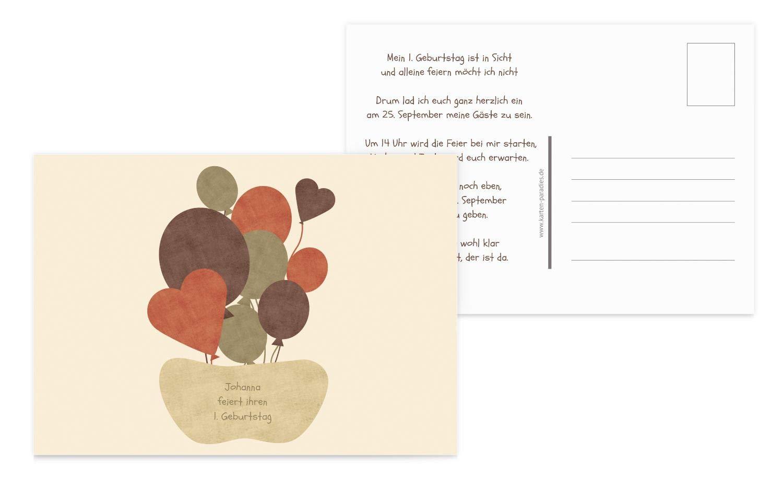 Einladung Airballoons, 60 Karten, Sonnengelb B07L17YKLF | Grüne, neue Technologie  | Neues Design  | Erste Kunden Eine Vollständige Palette Von Spezifikationen