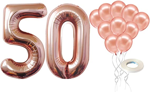 Birthday 5er Pack Balloons 50