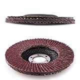 4.5 Inch Flap Discs by LotFancy - 20PCS 40 60 80