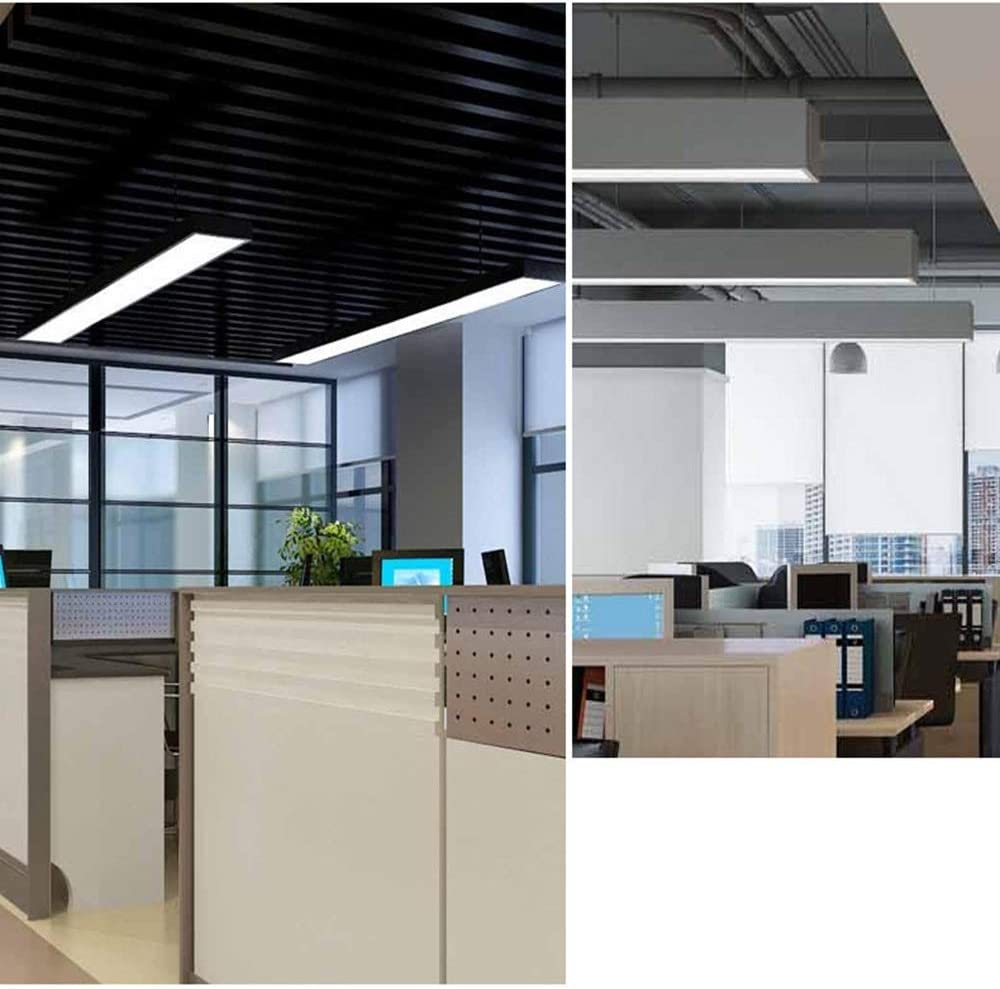 Luz de techo LED empotrada cuadrada, luces de techo con ...