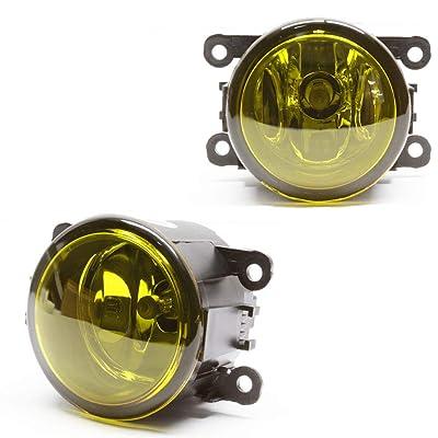 TopPick Fog Lights FOR Ford Explorer 2011-2015 4F9Z15200-Y: Automotive