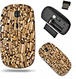 Liili Wireless Mouse Travel 2.4G Wireless Mice with USB Receiver, Click with 1000 DPI for notebook, pc, laptop, computer, mac book sorted firewood ready to burn in the fireplace I