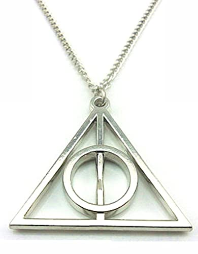 Harry Potter Deathly Hallows Necklace VgVdhpeW