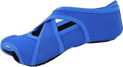 Women Yoga Shoes Soft Wrap Non-slip Pilates Barre Open-toed Dance Training Socks