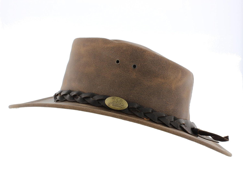 Jacaru Explorer 1004 Leather Cowboy Hat