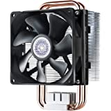 Cooler Master Hyper T2 Compact CPU Cooler w/ Dual Looped, Continuous Direct Contact Heatpipes, 92mm PWM Fan, Aluminum Fins, Intel LGA1151, AMD AM4/Ryzen