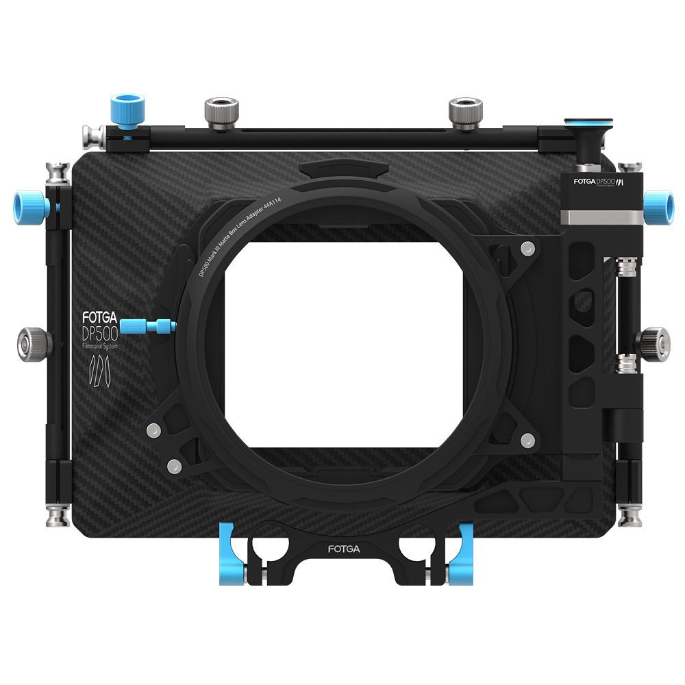 FocusFoto FOTGA DP500 Mark III Professional Metal DSLR Swing-away Matte Box Sunshade with Filter Trays for 15mm Rail Rod Rig System 5D2 5D3 A9 A7 A7R A7S II D850 GH4 GH5 BMPCC BMCC Cine Video Camera by FocusFoto (Image #3)