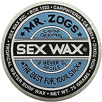 Mr. Zogs Original Sexwax, Temperatura de Agua Tropical