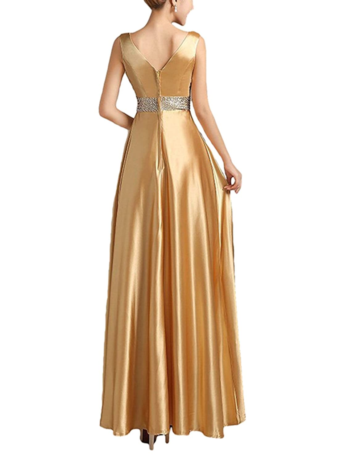 LIMATRY Women Long Section of The Bride Wedding Toast Dress Bridesmaid Dress