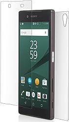 StilGut Protection en verre trempé pour Sony Xperia Z5 - protection avant et arrière