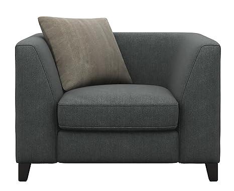 Cavendish tappezzeria Marco divano schienale alto Sedia granito ...