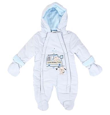 c3ff8bccc16c3 Combinaison singe et chien - bébé garçon - bleu: Amazon.fr: Vêtements et  accessoires