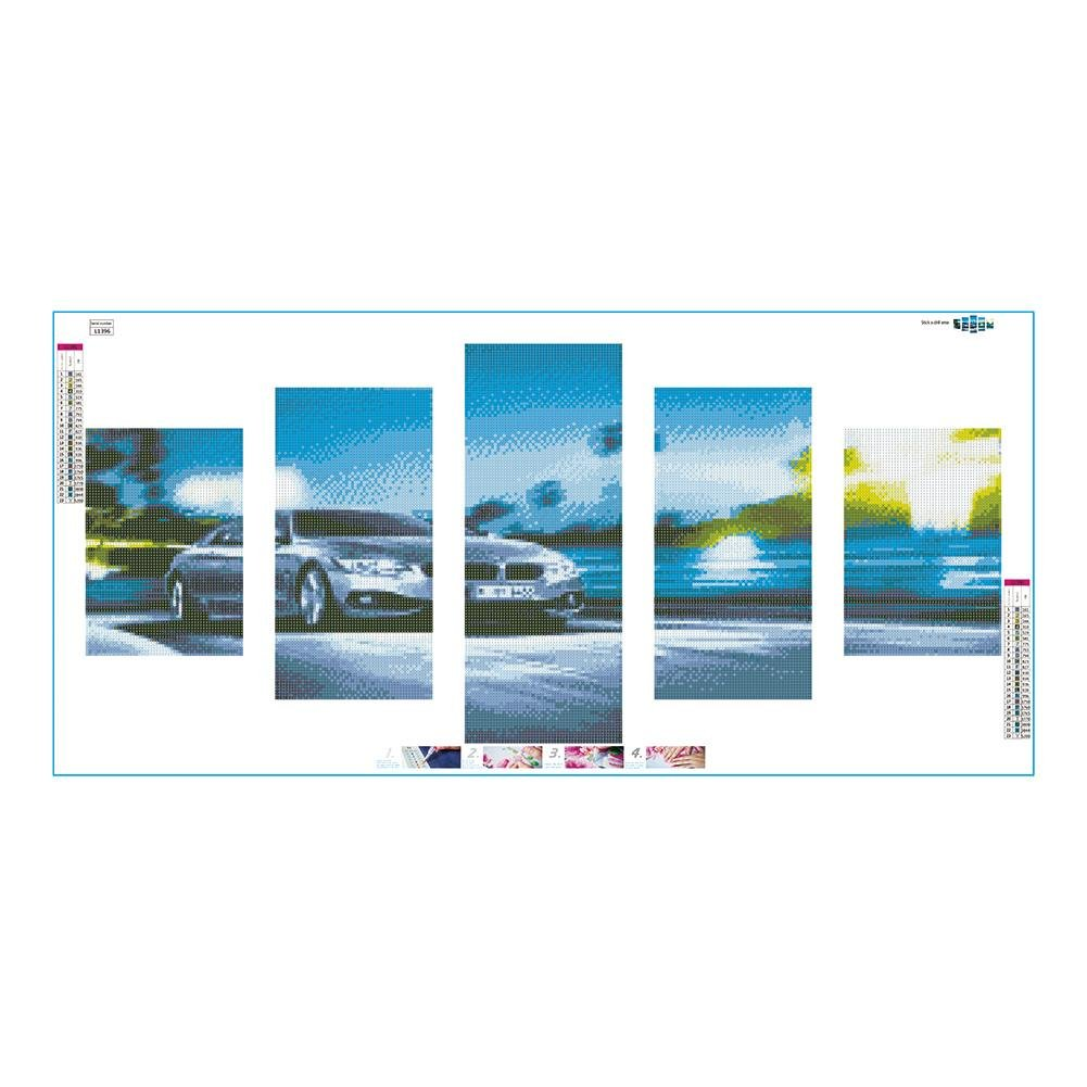38 cm antiscivolo in pelle Lisaion Automotive motivo floreale realizzato a mano Coprivolante per auto da donna//ragazza per la maggior parte delle auto