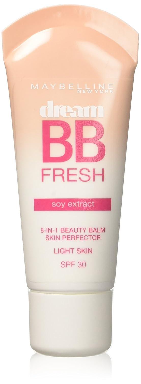 Maybelline Dream Fresh, Bb Cream Spf30, Tono Chiaro, 30 ml [Versione inglese] 3600530791897