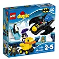 LEGO DUPLO DC Comics Super Heroes Batman Batwing Adventure 10823, Preschool, Pre-Kindergarten, Large Building Block Toys for Toddlers