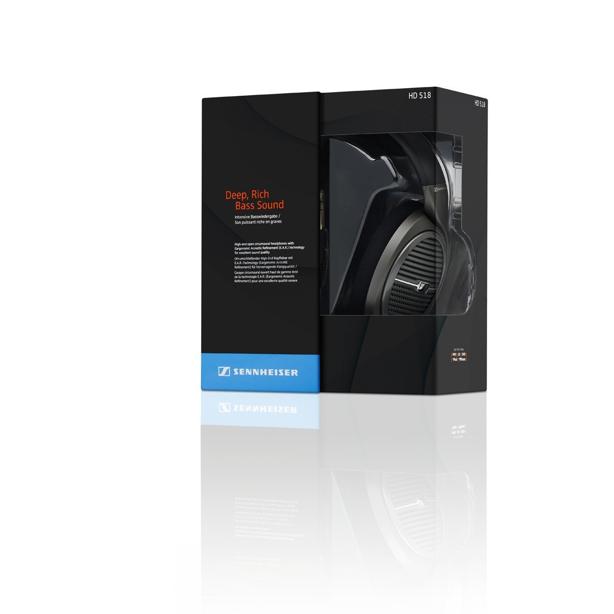 Sennheiser HD 518 Headphones Review