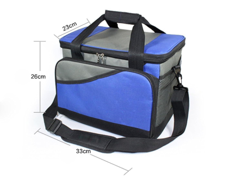 Großvolumige Eisbeutel Outdoor-Kühltasche Camping Kühltasche Dicht Lagerung Lagerung Lagerung Von Lebensmitteln Taschen,grau B072L782RT Taschen Sport a3ddad