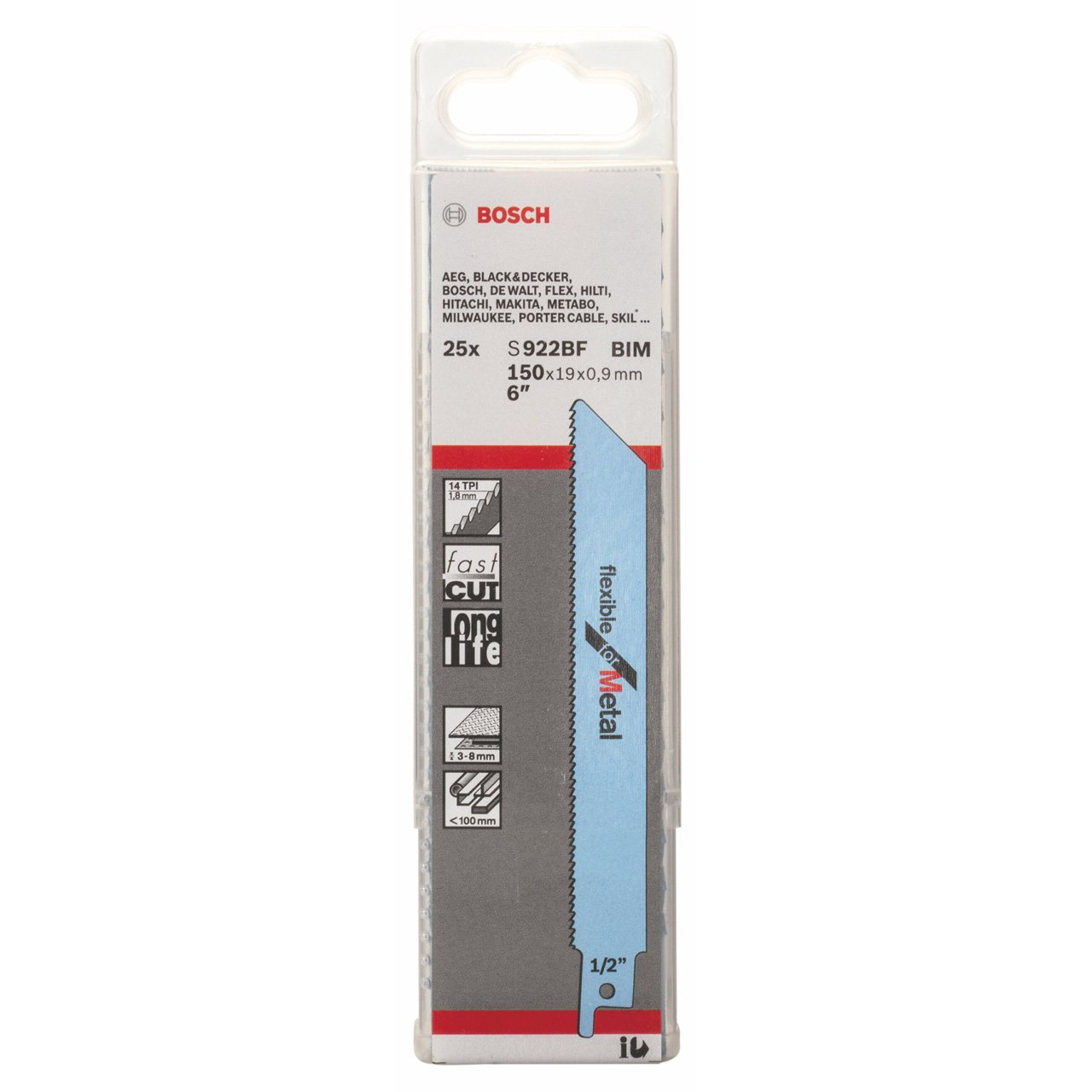 Bosch 2329798 Sabre Saw Blade , Blue by Bosch