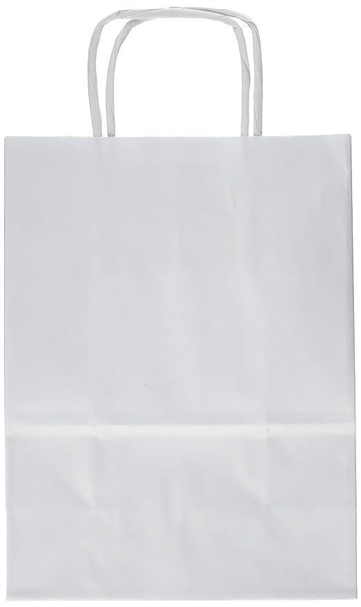 Saul Sadoch Rex SDS16B Bolsa de Papel - Bolsas de Papel (Color Blanco, 210 mm, 160 mm, 80 mm)