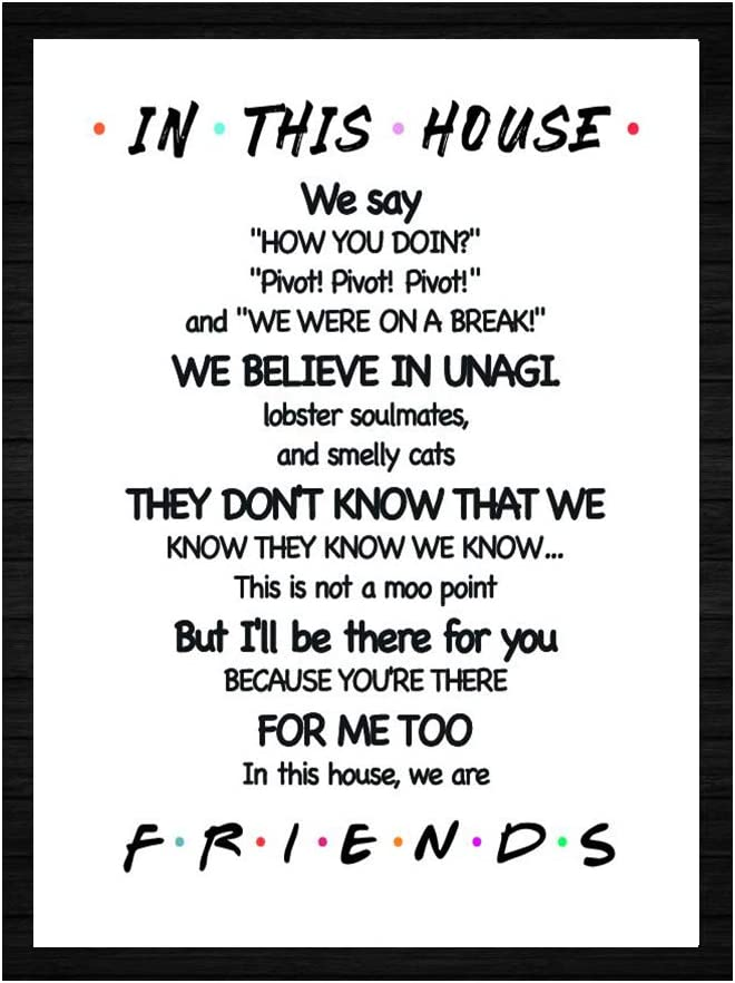 Family Rules House Rules Quotes high quality poster wall poster Choose your Size