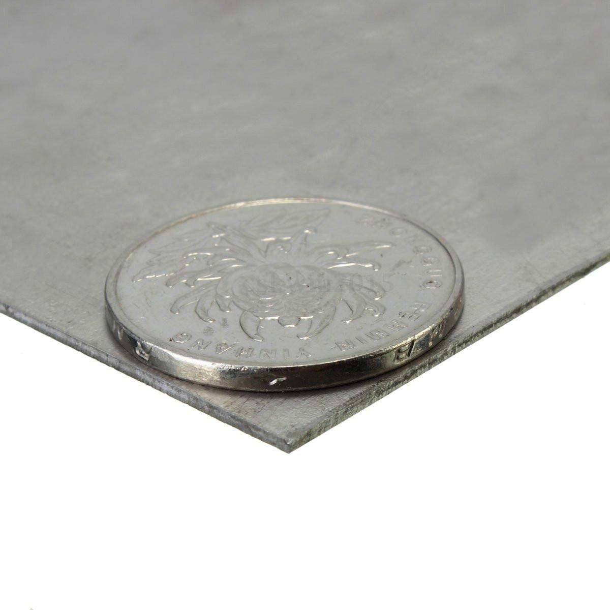 Sliver Titanium Ti Metal TA4//Gr5 Grade 5 Titan Plate Sheet 3mm x 100mm x 100mm
