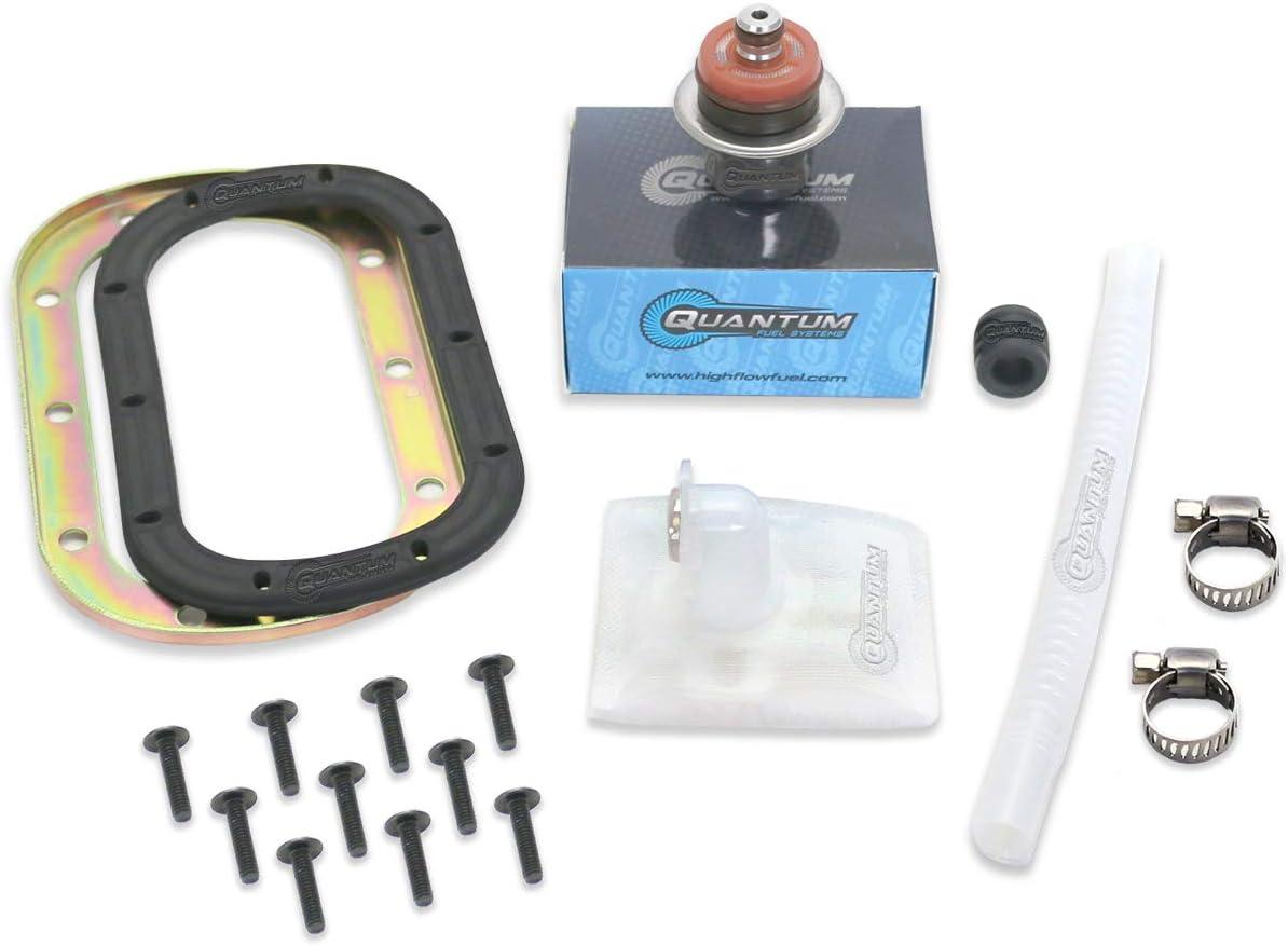 2006-2015 Replaces 703500771 QFS-K312 Quantum Fuel Pump Repair Kit +Regulator +Tank Seal//Gasket for Can-Am Outlander Renegade DS 450
