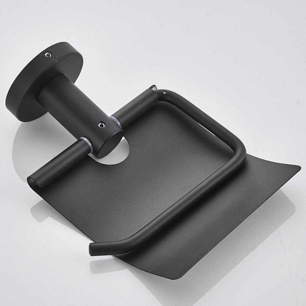 H/ütenhaken zum Bohren Kleiderhaken WOMAO Schwarz Handtuchhaken Edelstahl Konstruktion Wandmontieren Schwarz Oberfl/äche Amerikanisch Stil K/üche Badezimmer Mantelhaken
