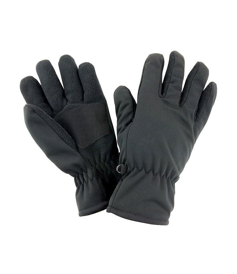 Result Winter Essentials Mens Softshell Thermal Gloves