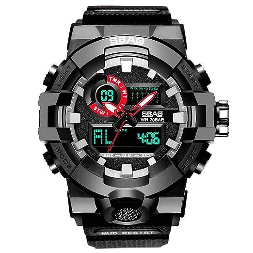 DAYLIN Relojes Deportivos Hombre Reloj Digital Despertador ...