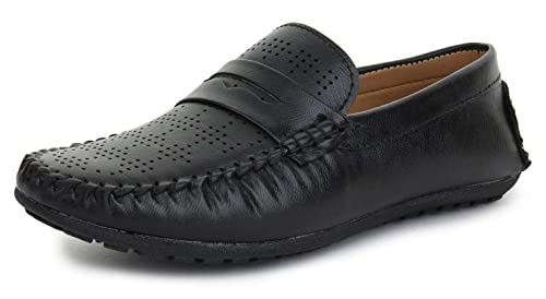 Shoe Fab Softy Leather Black Formal Shoes For Men Best For Office