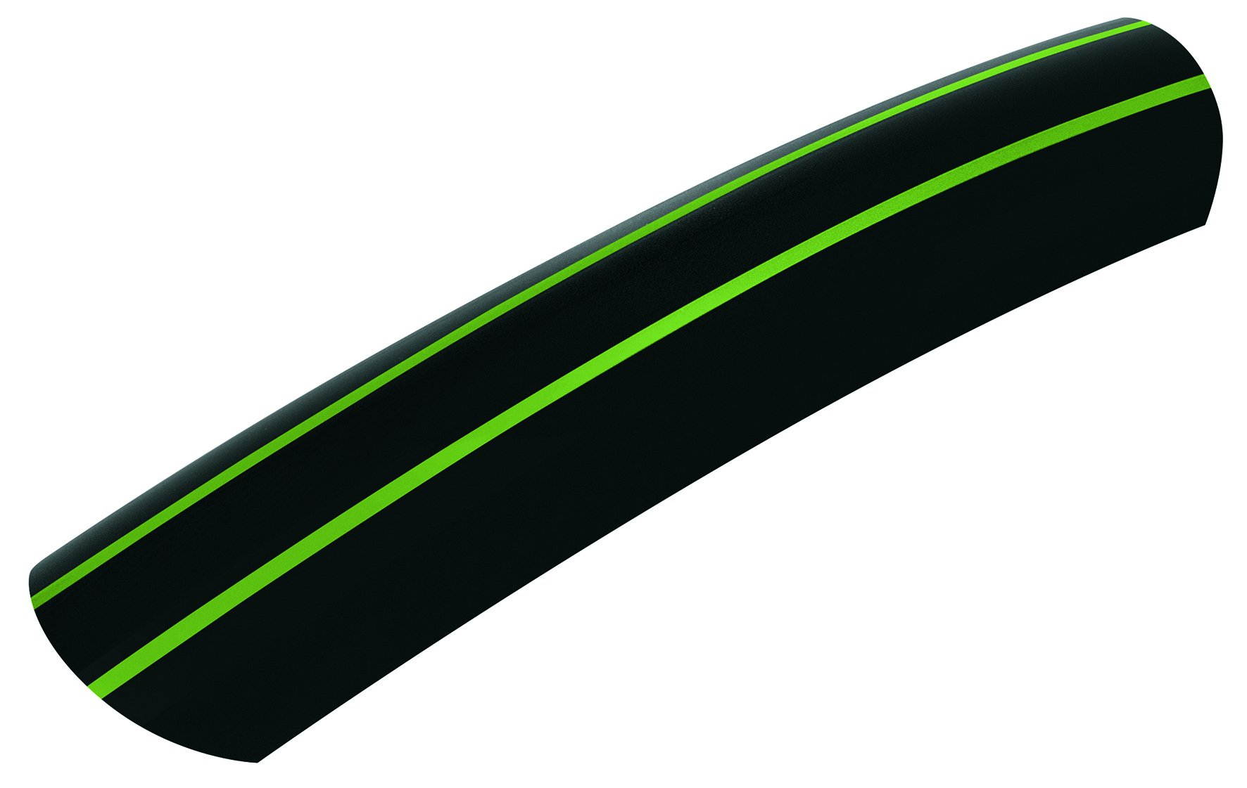 SKS-Germany Stingray Fender Set Green 45Mm With Green Striping, Black by SKS-Germany (Image #4)