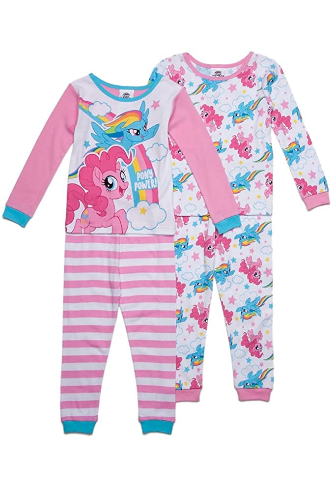 Multi AME Toddler Girls My Little Pony Pony Power 4-Pc Pajama Set