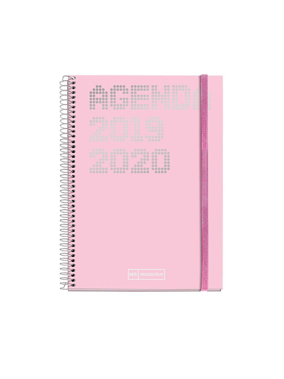Miquelrius agenda escolar con espiral 2019 2020 semana vista shiny español 117x182 mm
