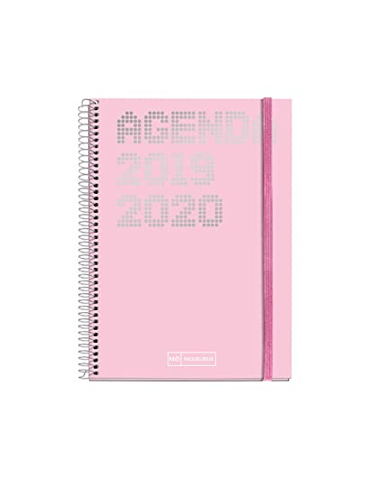 Miquelrius agenda escolar con espiral 2019 2020 Día Página Shiny Catalán 117x182 mm