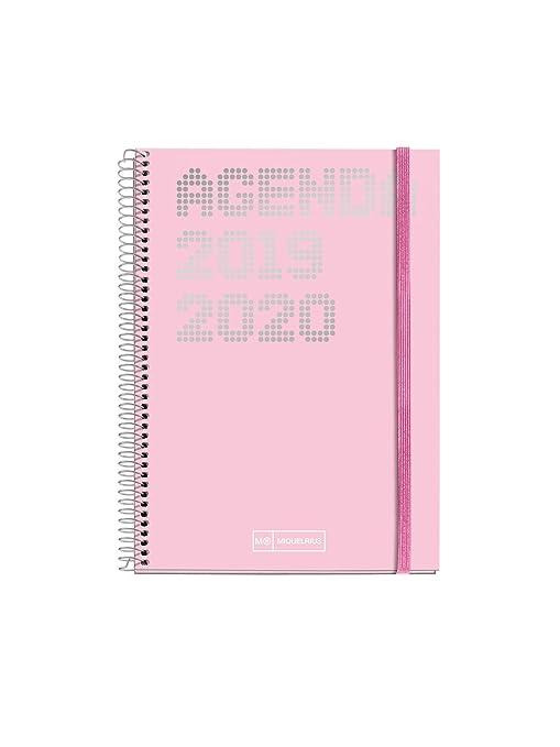 Miquelrius agenda escolar con espiral 2019 2020 semana vista shiny catalán 117x182 mm