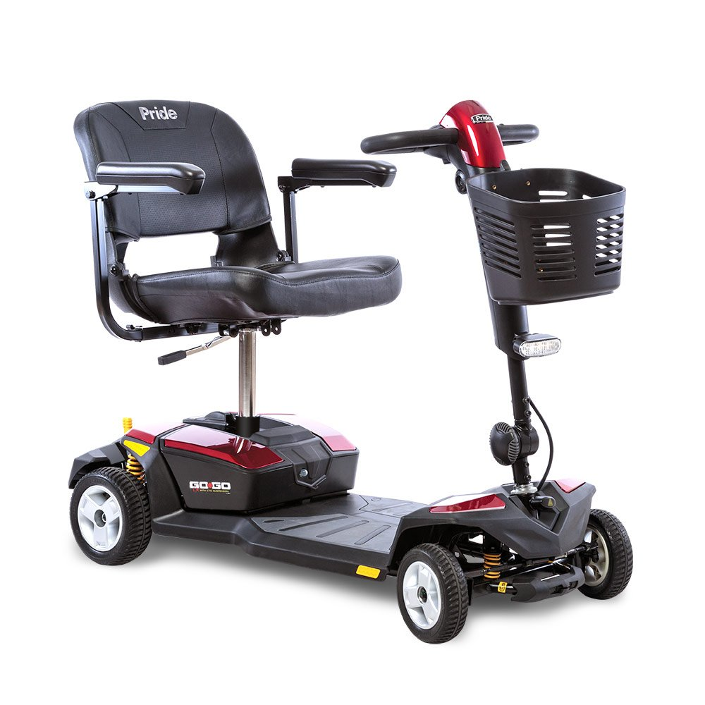 Go-Go LX with CTS Suspension 4-Wheel 18 AH Battery pack