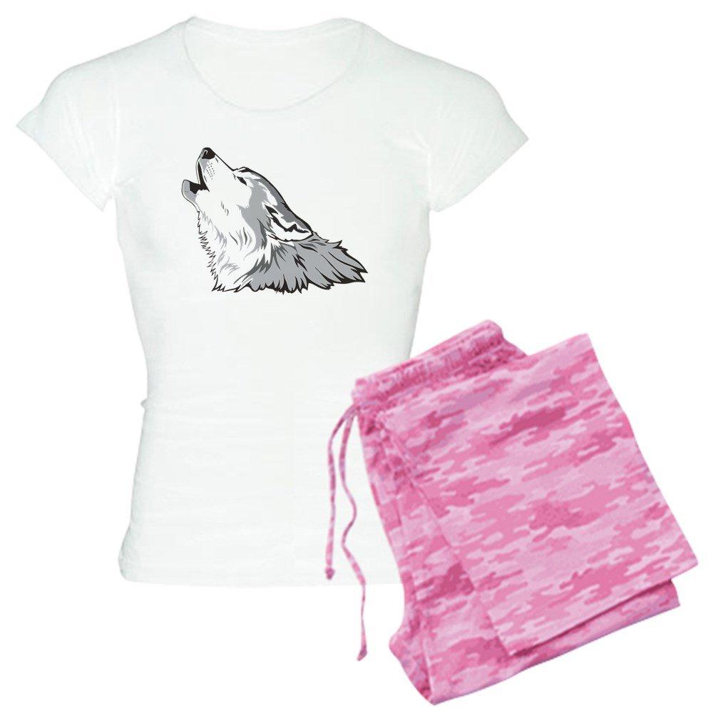 155ba07d41e2 Amazon.com: CafePress Wolf Women's PJs: Clothing