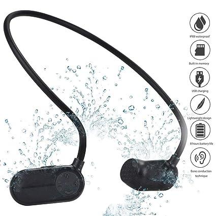 Auriculares Deportivos A Prueba De Agua, Reproductor De MP3 Con ...