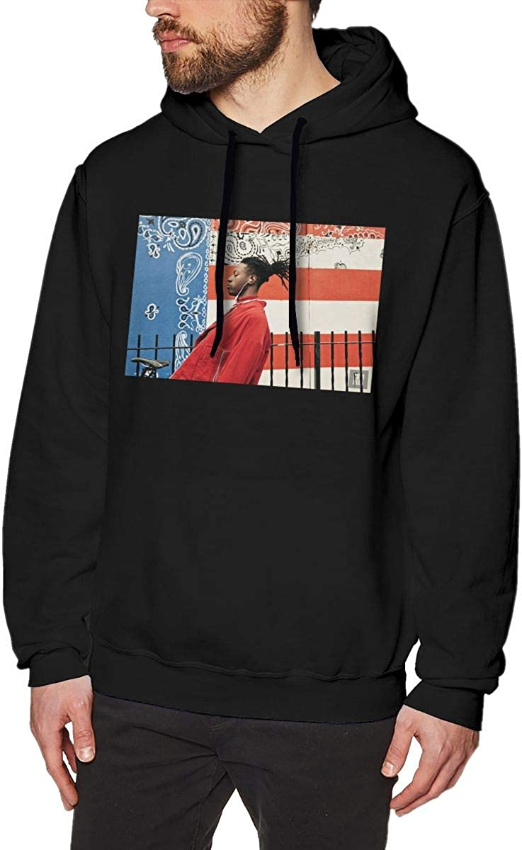 Whiteandnavy Comfortable Mens A Day in The Life of Joey Badass Hoodie Black with Mens Hoodies